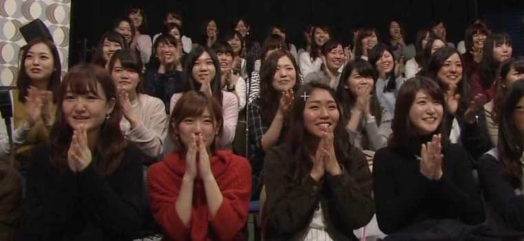 テレビ番組の収録で観客として参加する女性に人気のアルバイト