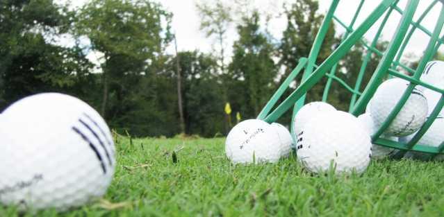 ゴルフボールの球拾いのアルバイト