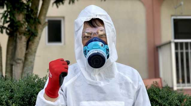 事故物件のクリーニング作業「特殊清掃」のアルバイト